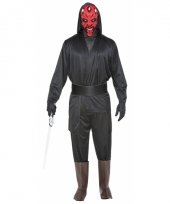Verkleed schurk darth maul look a like kostuum