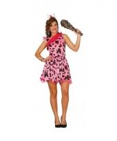 Verkleedkleding holbewoner pak voor dames