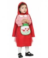 Verkleedkostuum roodkapje voor babys