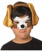 Verkleedpartij setje hond voor kinderen