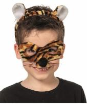 Verkleedpartij setje tijger voor kinderen