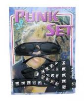 Verkleedsetje voor een punker