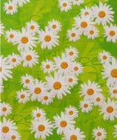 Verpakkings papier bloemetjes print 12