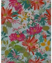 Verpakkings papier bloemetjes print 16