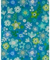 Verpakkings papier bloemetjes print 20