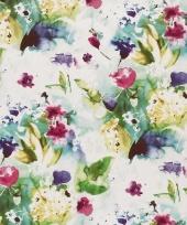 Verpakkings papier bloemetjes print 27