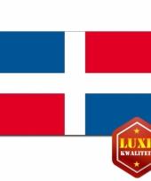 Vlaggen dominicaanse rep 100x150cm