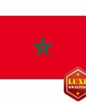 Vlaggen van marokko 100x150 cm