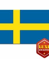 Vlaggen van zweden 100x150 cm