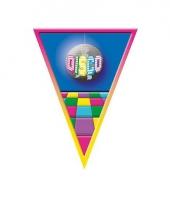 Vlaggenlijn disco thema 5 meter