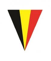 Vlaggenlijn met de belgische vlag 5 meter