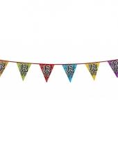 Vlaggetjes 12 5 jaar feestje