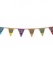 Vlaggetjes 12 jaar feestje