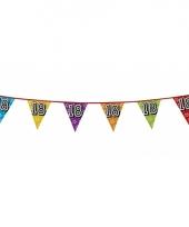 Vlaggetjes 18 jaar feestje