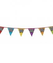 Vlaggetjes 30 jaar feestje