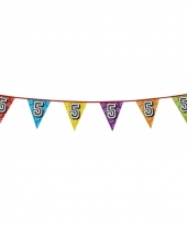 Vlaggetjes 5 jaar feestje