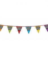 Vlaggetjes 50 jaar feestje