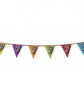 Vlaggetjes 7 jaar feestje