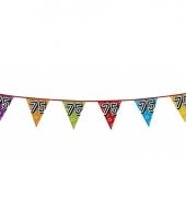 Vlaggetjes 75 jaar feestje