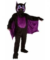 Vleermuis kostuum met mega pluche masker