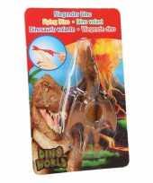 Vliegende dino speelgoed poppetje pterosauri rs bruin