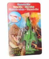 Vliegende dino speelgoed poppetje pterosauri rs groen
