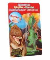 Vliegende dino speelgoed poppetje t rex groen