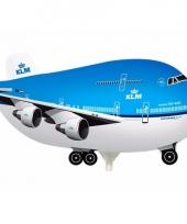 Vliegtuig thema folie ballon