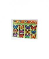 Vlinder 3d stickers