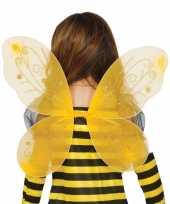 Vlinder vleugels geel voor kinderen