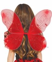 Vlinder vleugels rood voor kinderen