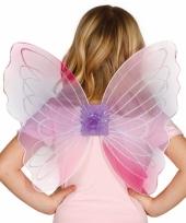 Vlinder vleugels roze voor kinderen
