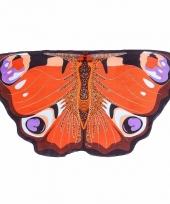 Vlinder vleugeltjes dagpauwoog voor kinderen