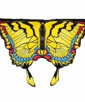 Vlinder vleugeltjes gele zwaluwstaart voor kinderen