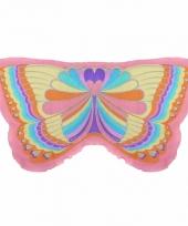 Vlinder vleugeltjes regenboog voor kinderen 10089598