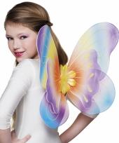 Vlinder vleugeltjes regenboog