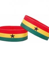 Voetbal armband ghana