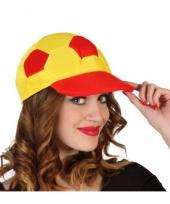 Voetbal cap spanje voor volwassenen