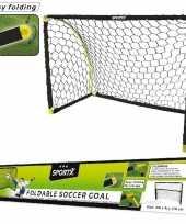 Voetbal goal voetbaldoel 180 x 91 x 120 cm