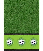 Voetbal tafelkleden 130 x 180 cm