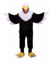Vogel kostuum van een adelaar