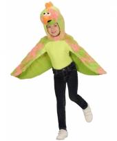Vogel verkleedkleding cape voor kids