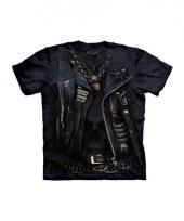 Volwassene shirts biker jack