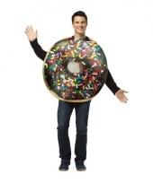 Volwassenen donut kostuum