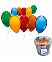 Voordeelverpakking ballonnen is emmer 100x