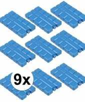 Voordeelverpakking met 9 koelelementen van 220 cc