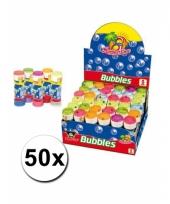 Voordelige bellenblazen pakket 50x