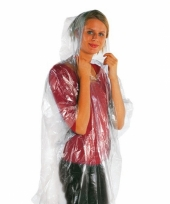 Voordelige regenponcho s