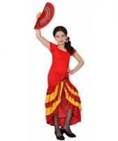 Voordelige rode spaanse jurken kids