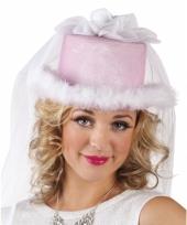 Vrijgezellen bruids hoedje voor dames